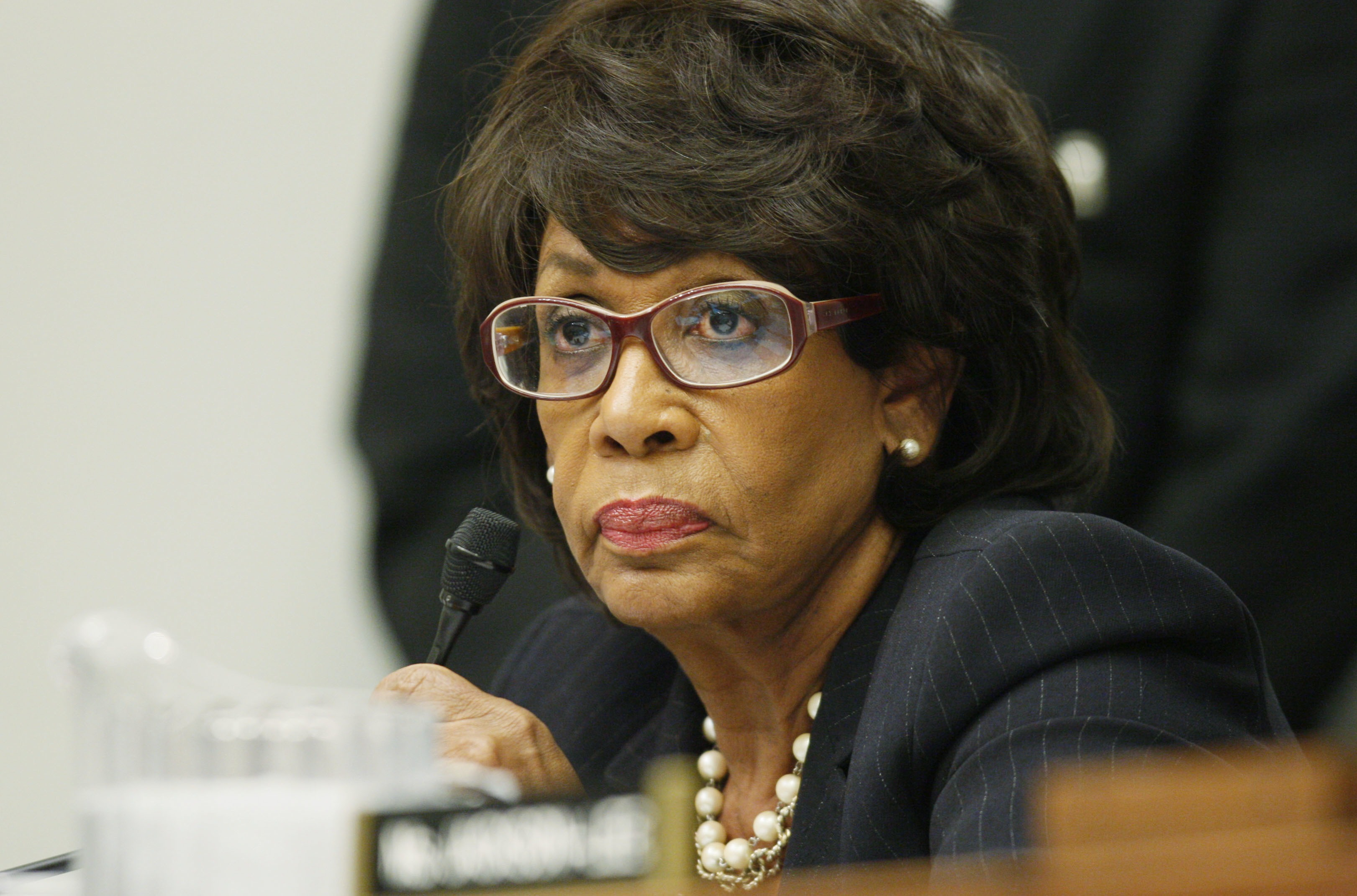 Maxine Waters Husband $15k to Waters' Husband