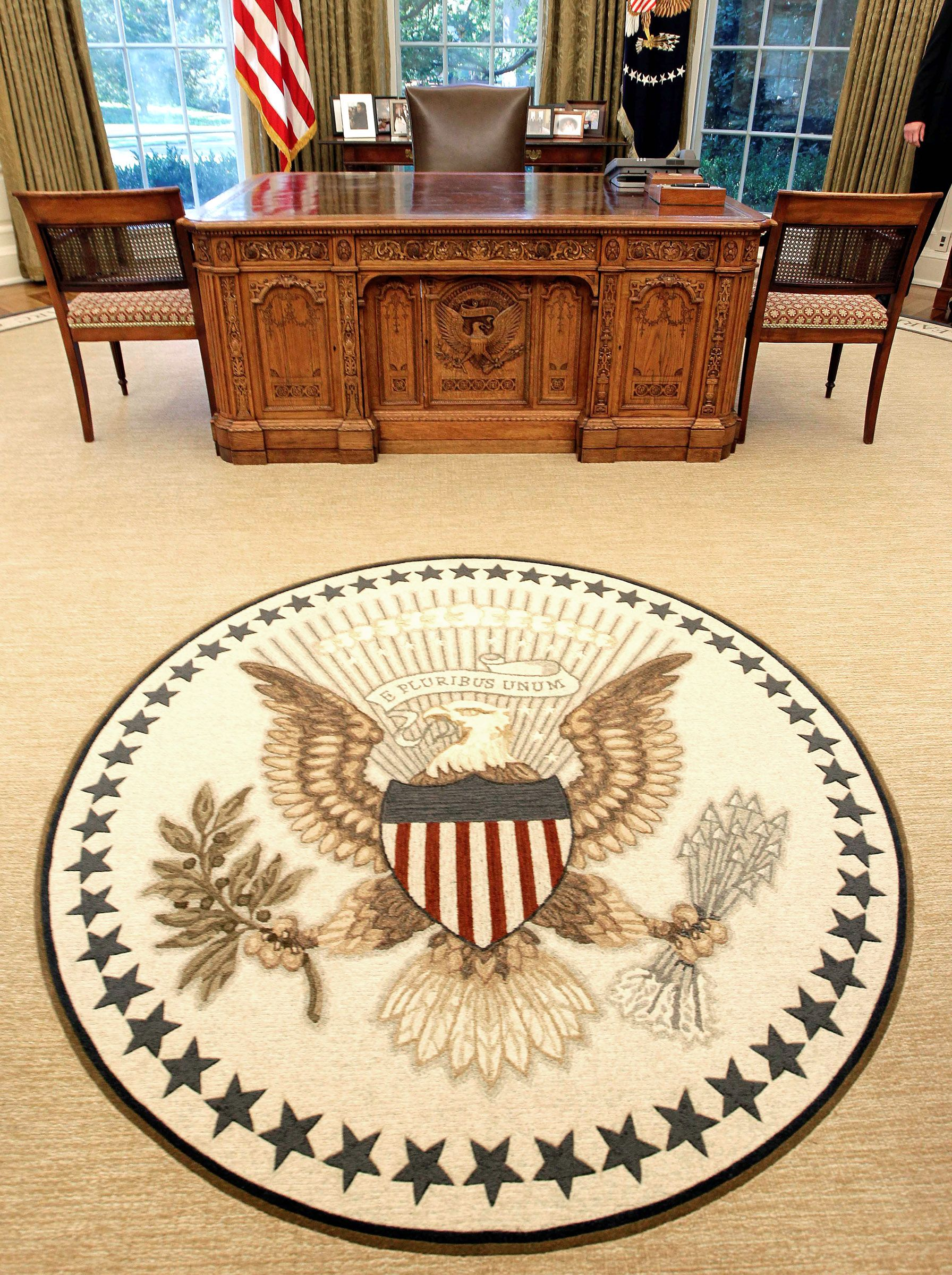 Oval office rugs