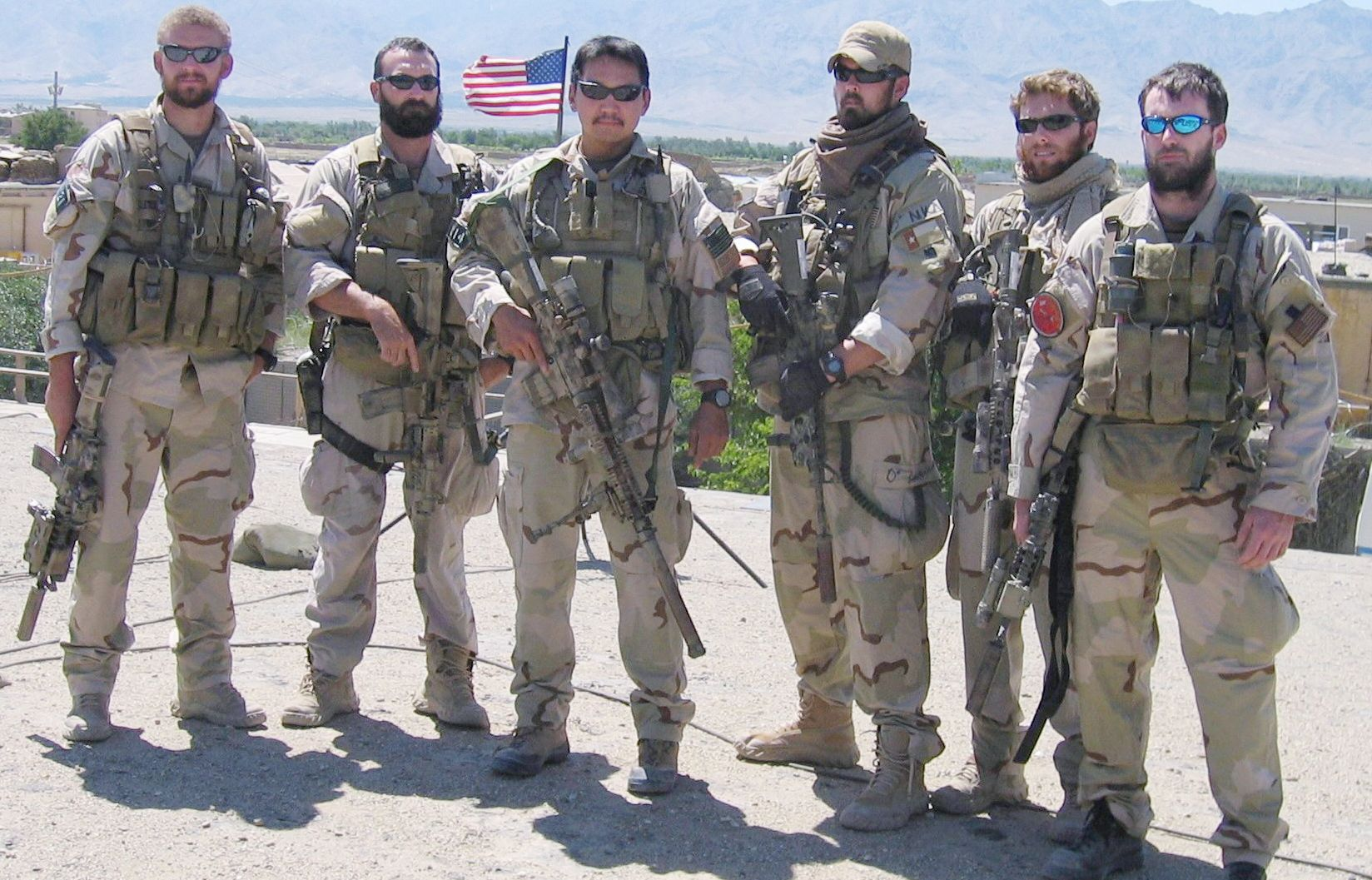 Marcus Luttrell Scars