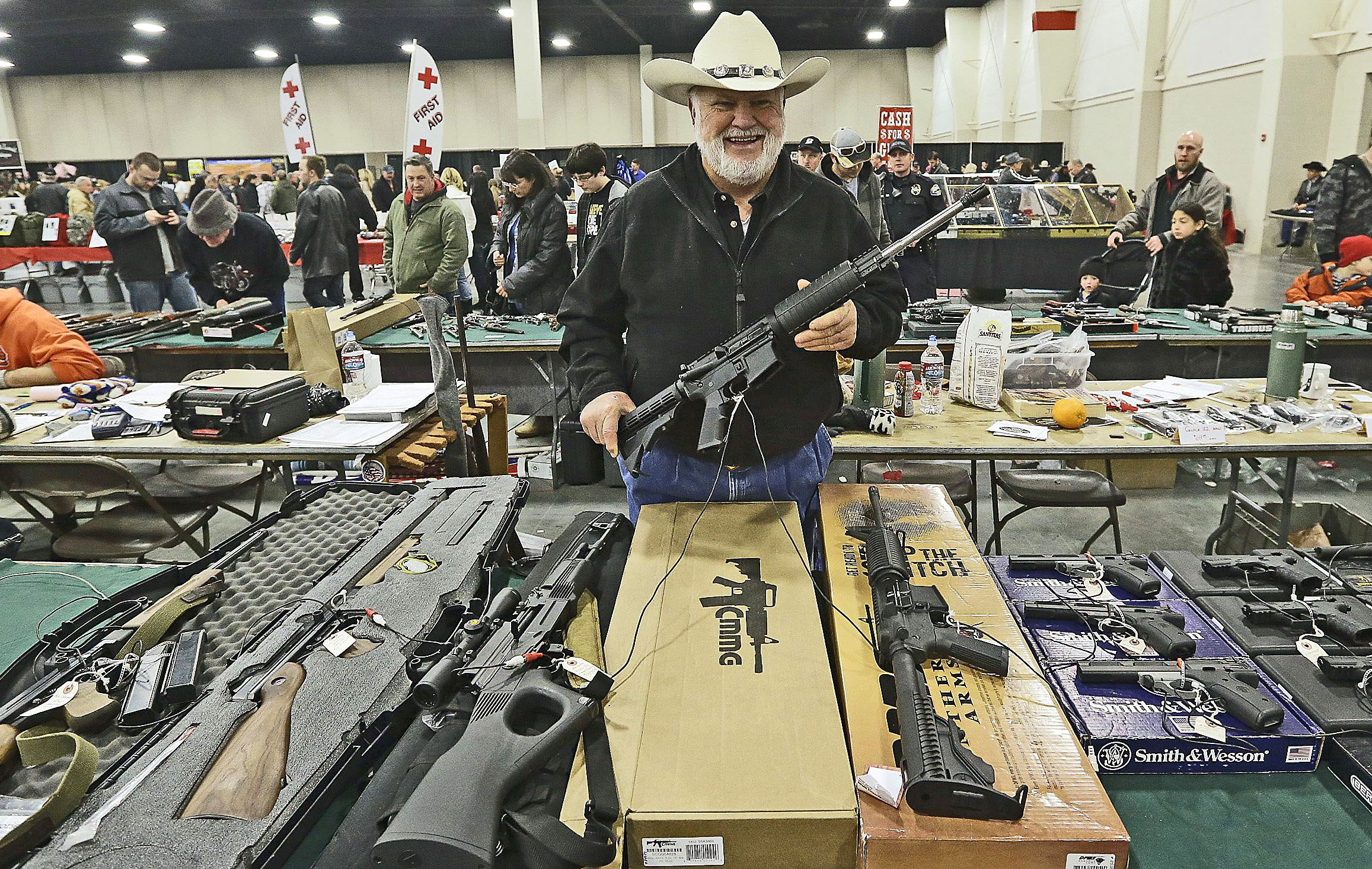 I am reluctant to buy a gun from a gun shop, should I be?