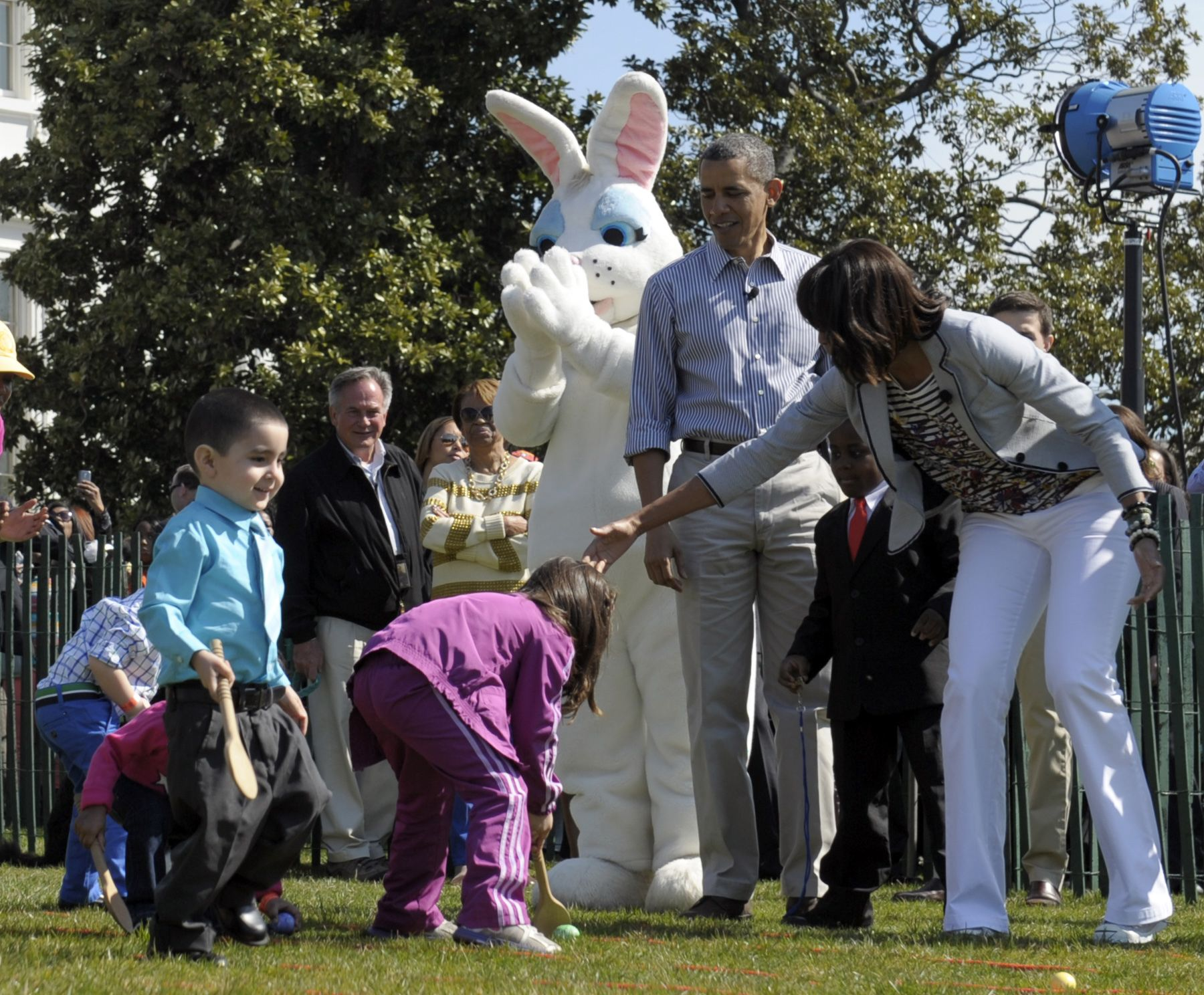 despite sequester, obama's egg roll rolls on - washington times