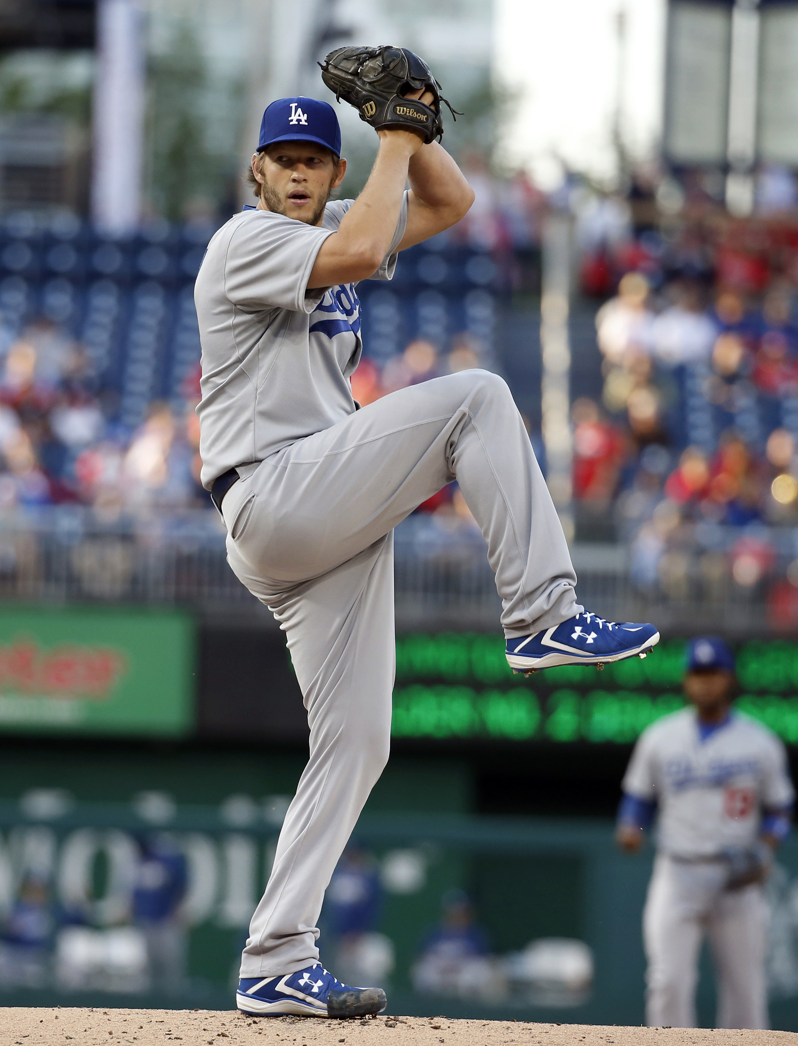 Clayton Kershaw, Dodgers have no trouble with Nats ...