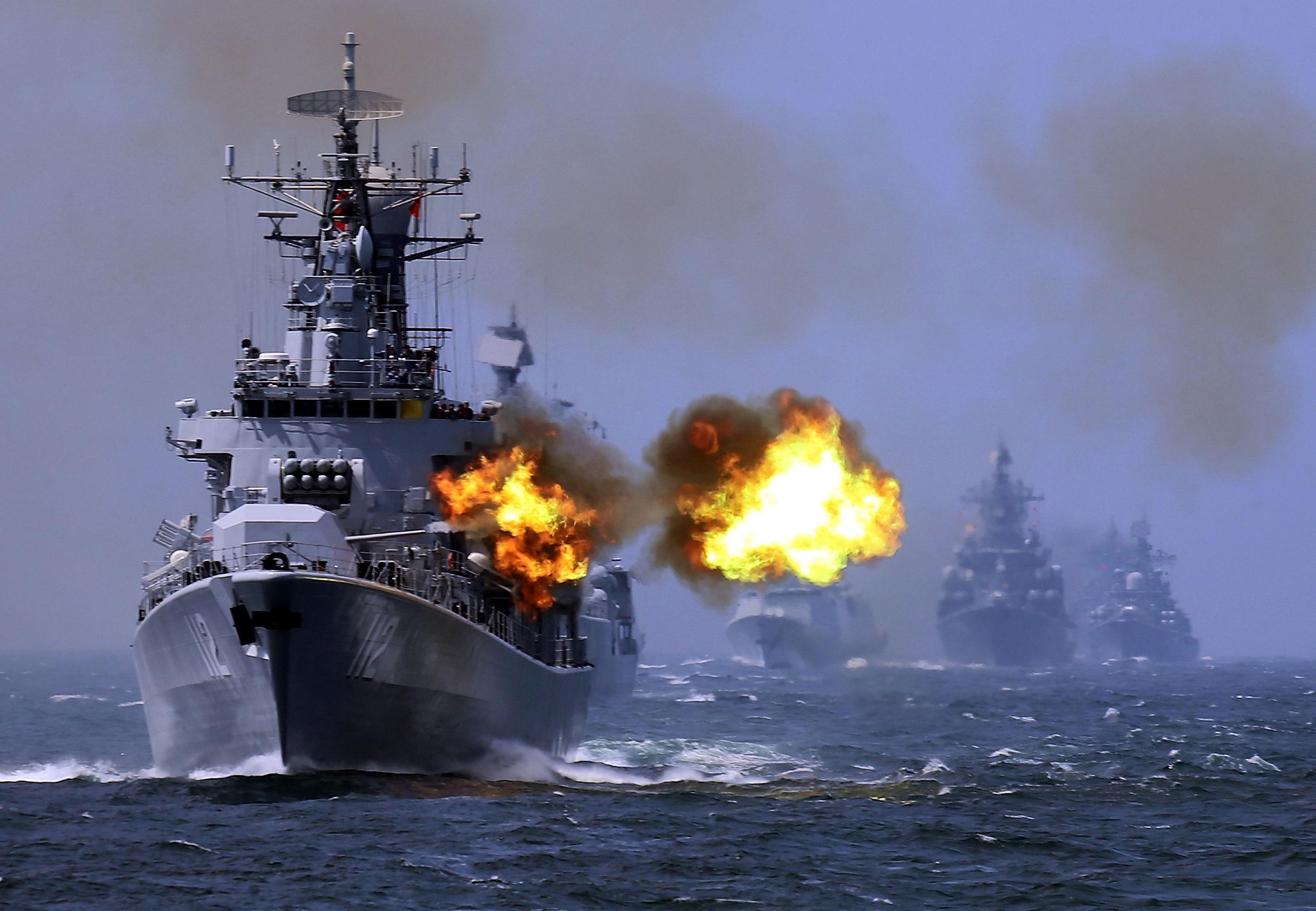 Image result for china naval exercise