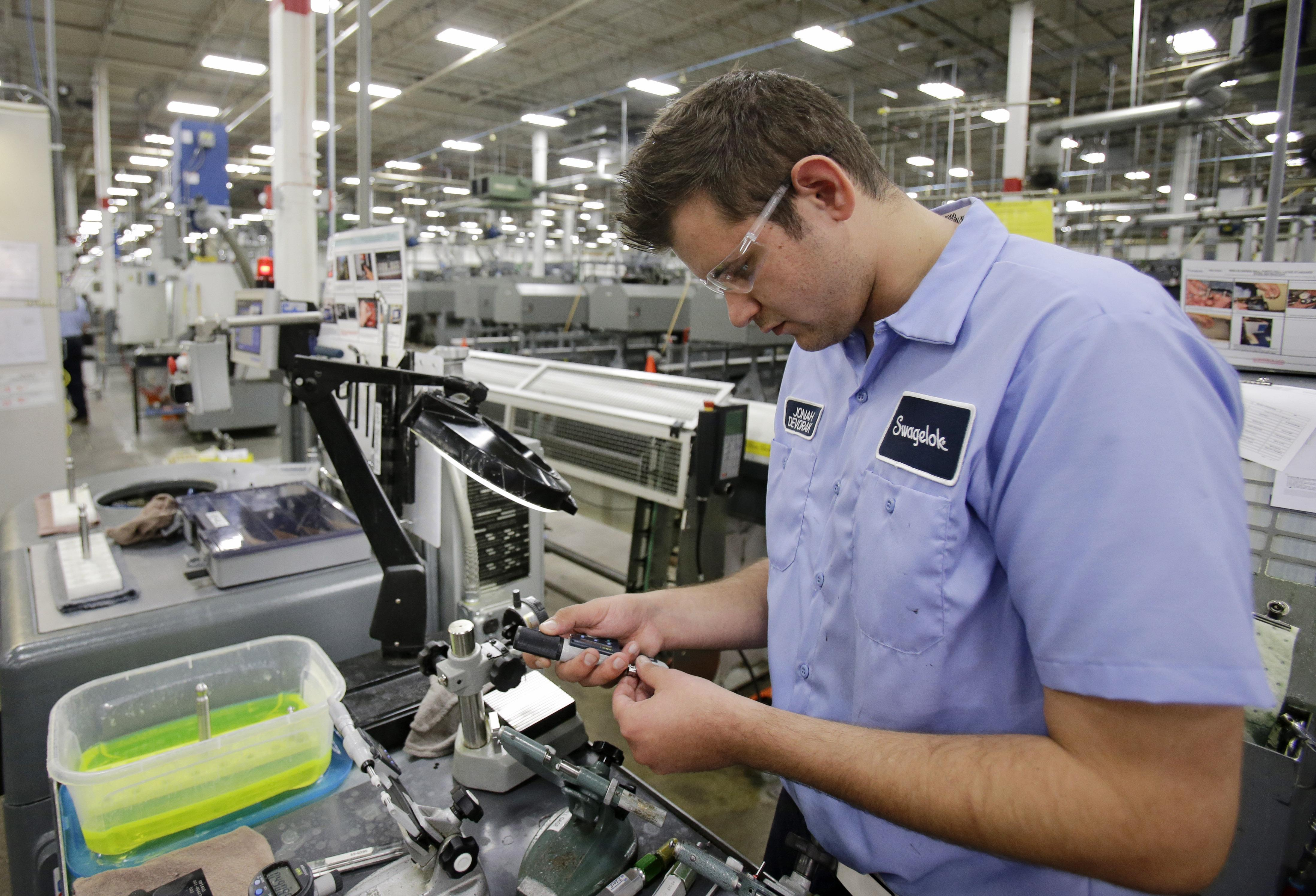 manufacturing in ohio seeing slow steady growth washington times