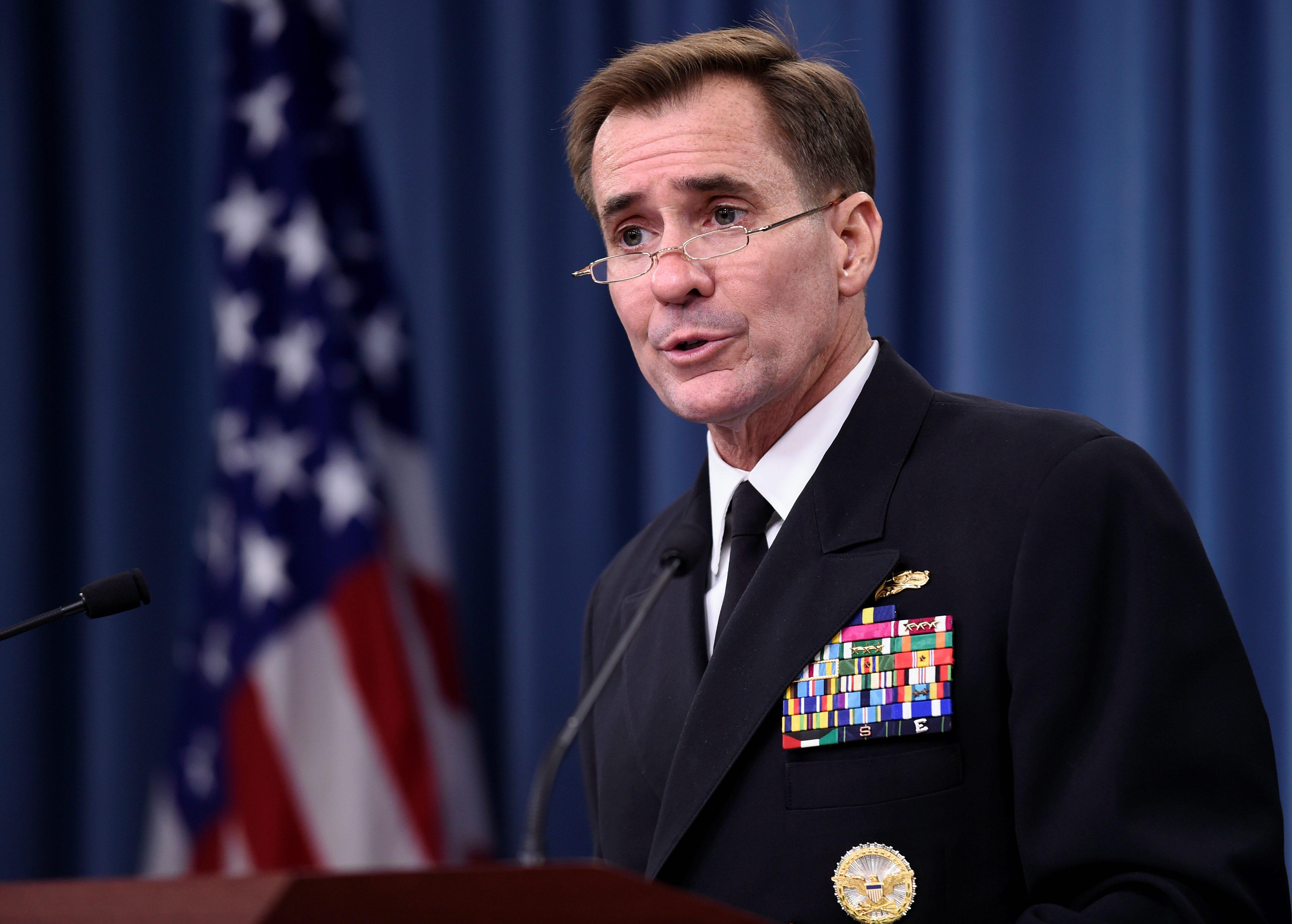 John Kirby (admiral) Rear Adm John Kirby Bio News Photos Washington Times