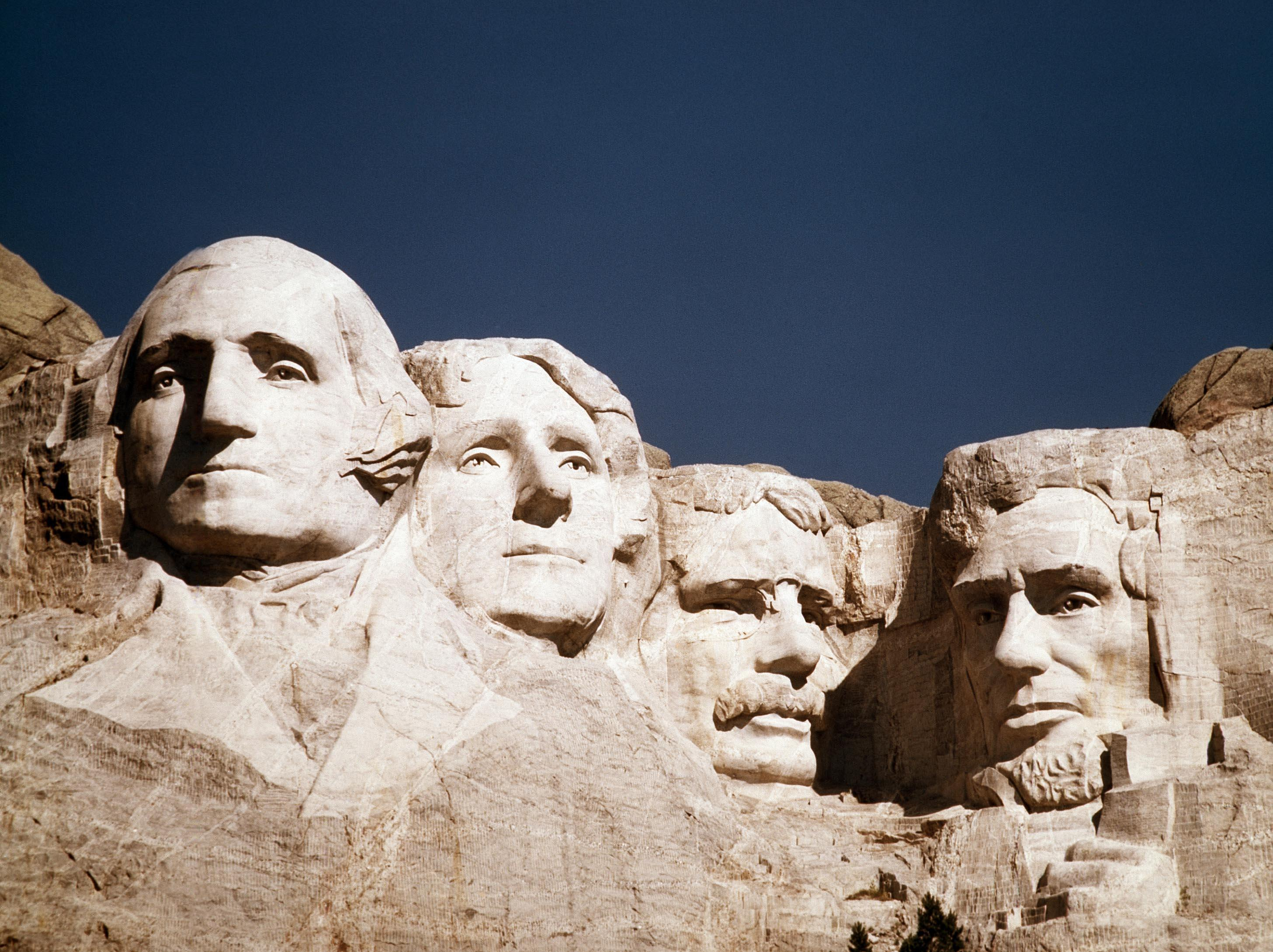 Worksheet How Many Presidents On Mount Rushmore mount rushmore 21 percent of democrats would add president obama washington times