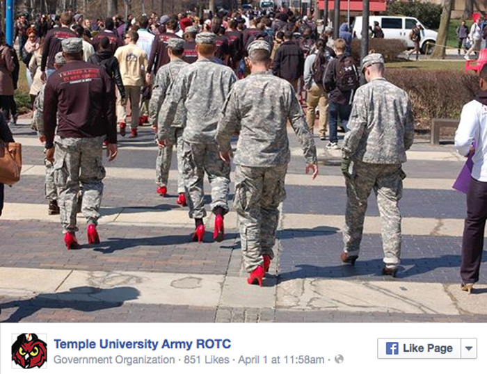 Rotc Red Shoes