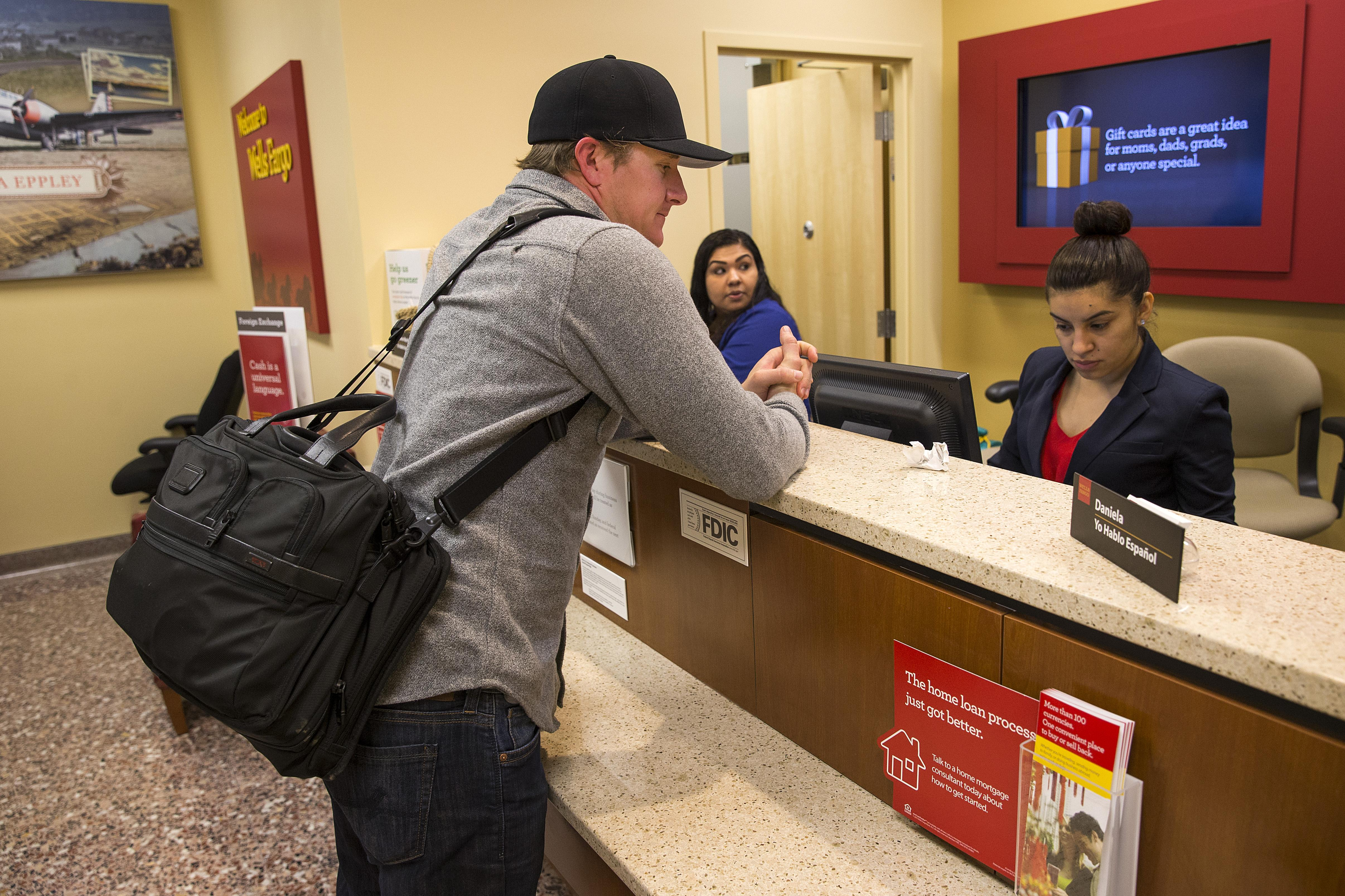 wells fargo s new atms does more than dispense cash washington times