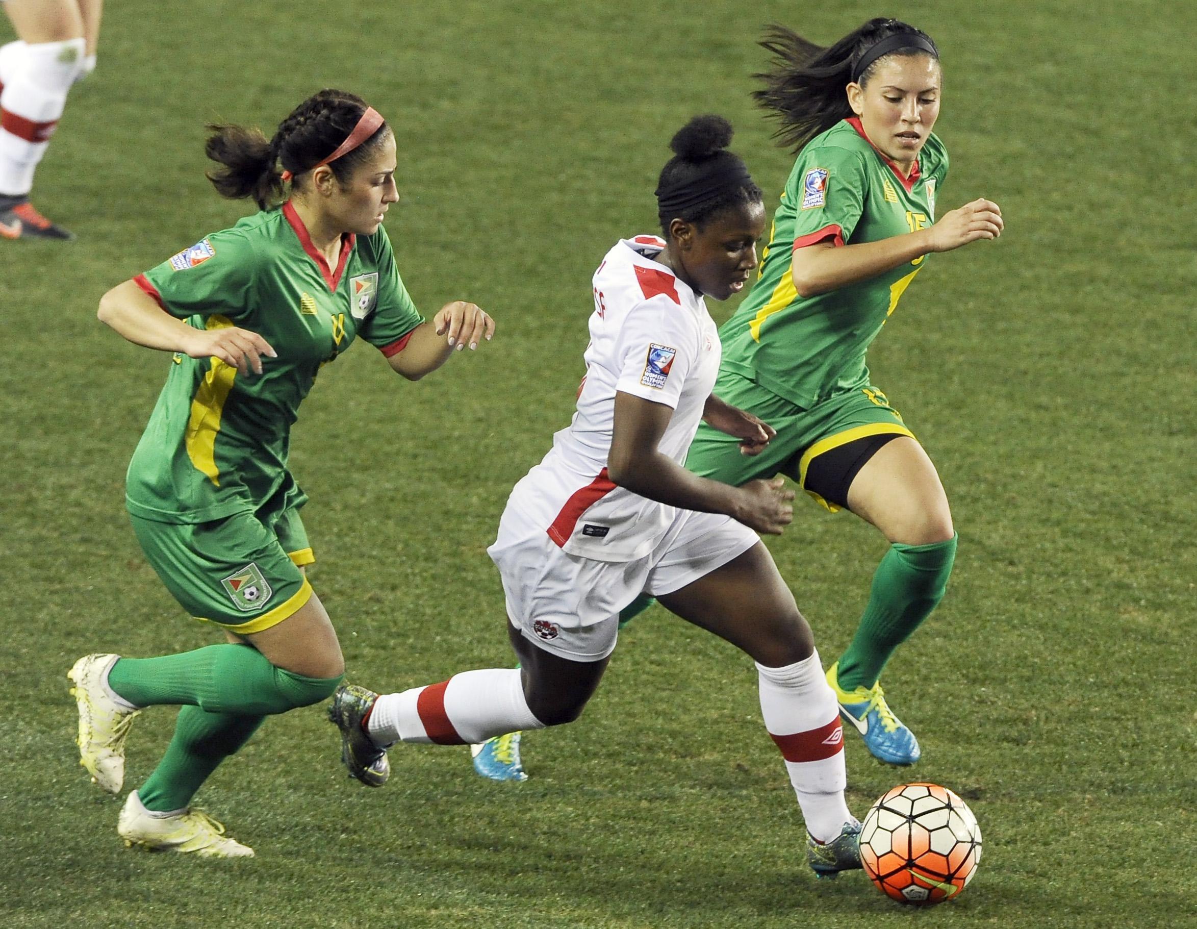 Guyana Canada Soccer