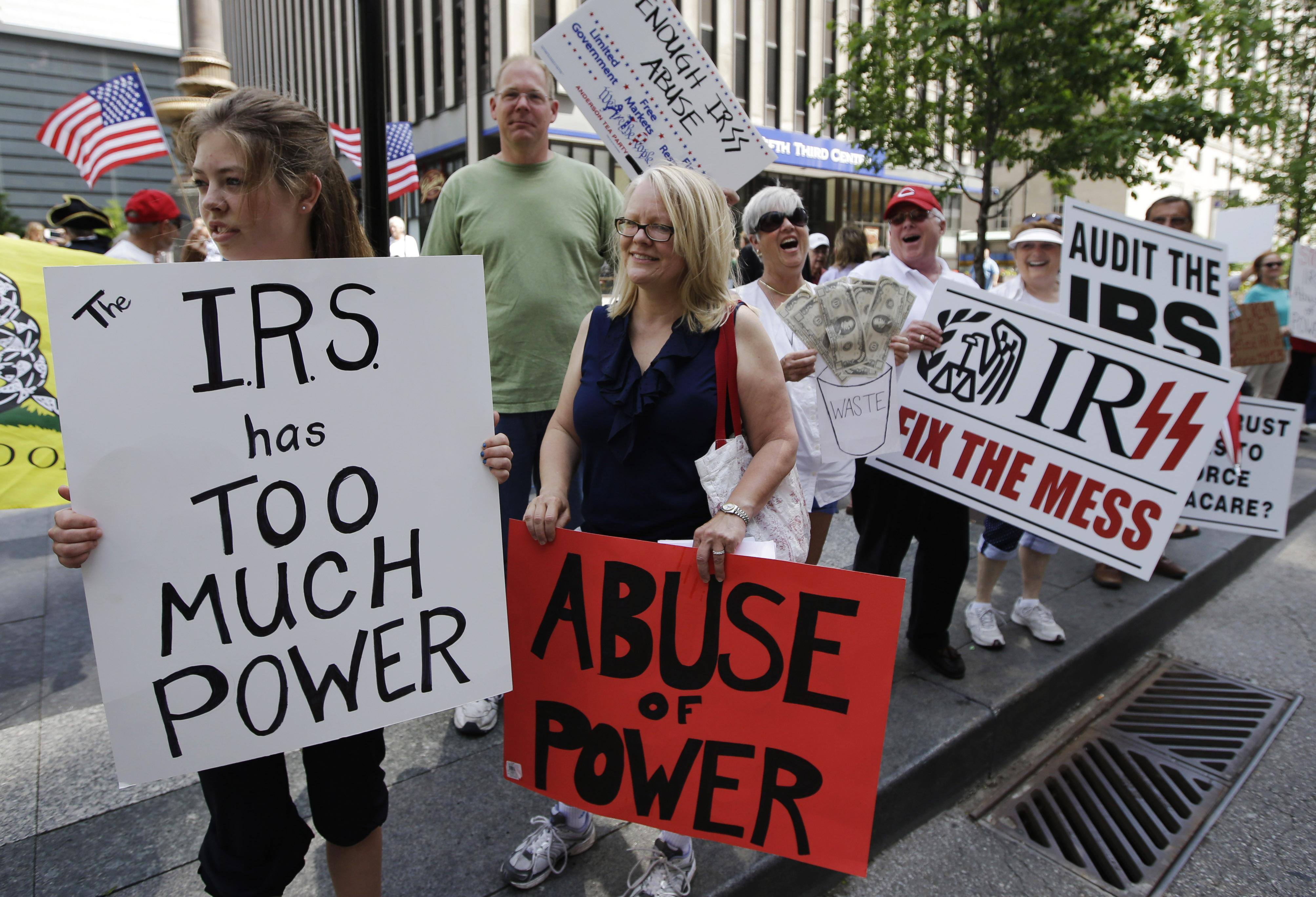 Image result for irs tea party
