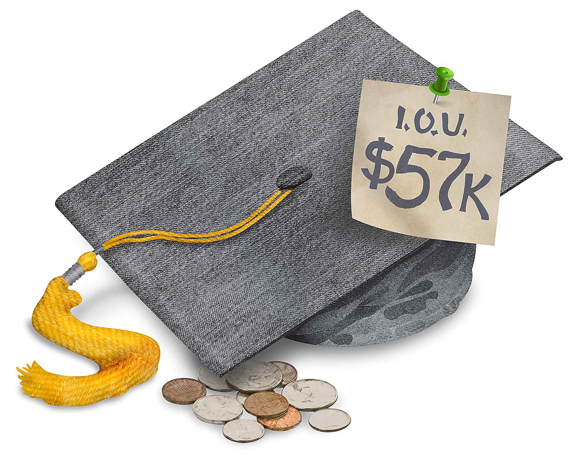 HADLEY HEATH MANNING: Teaching the wrong lesson about student debt