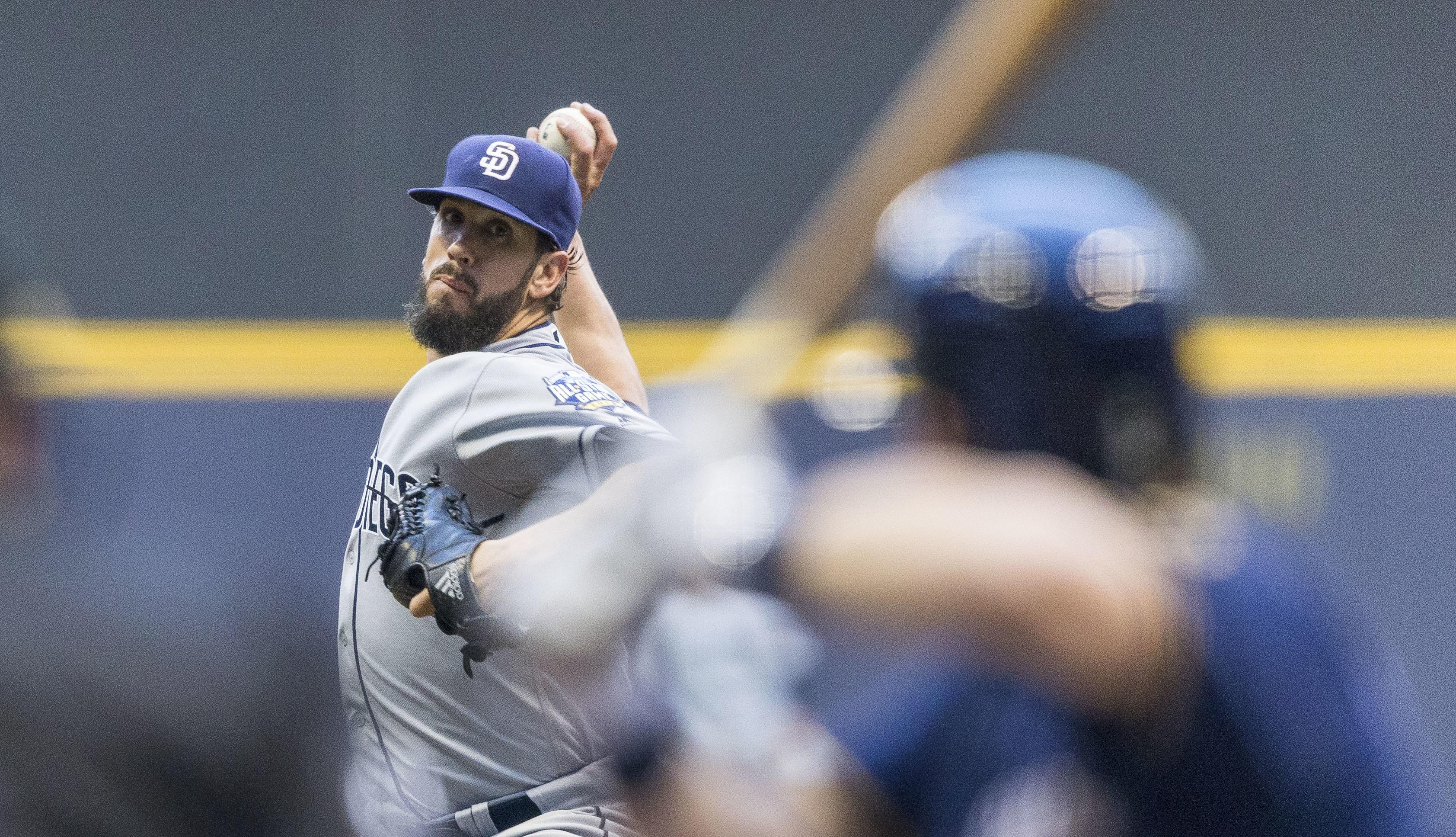 Brewers fall to Padres on HRs by Norris, Upton Jr. in 12th - Washington Times