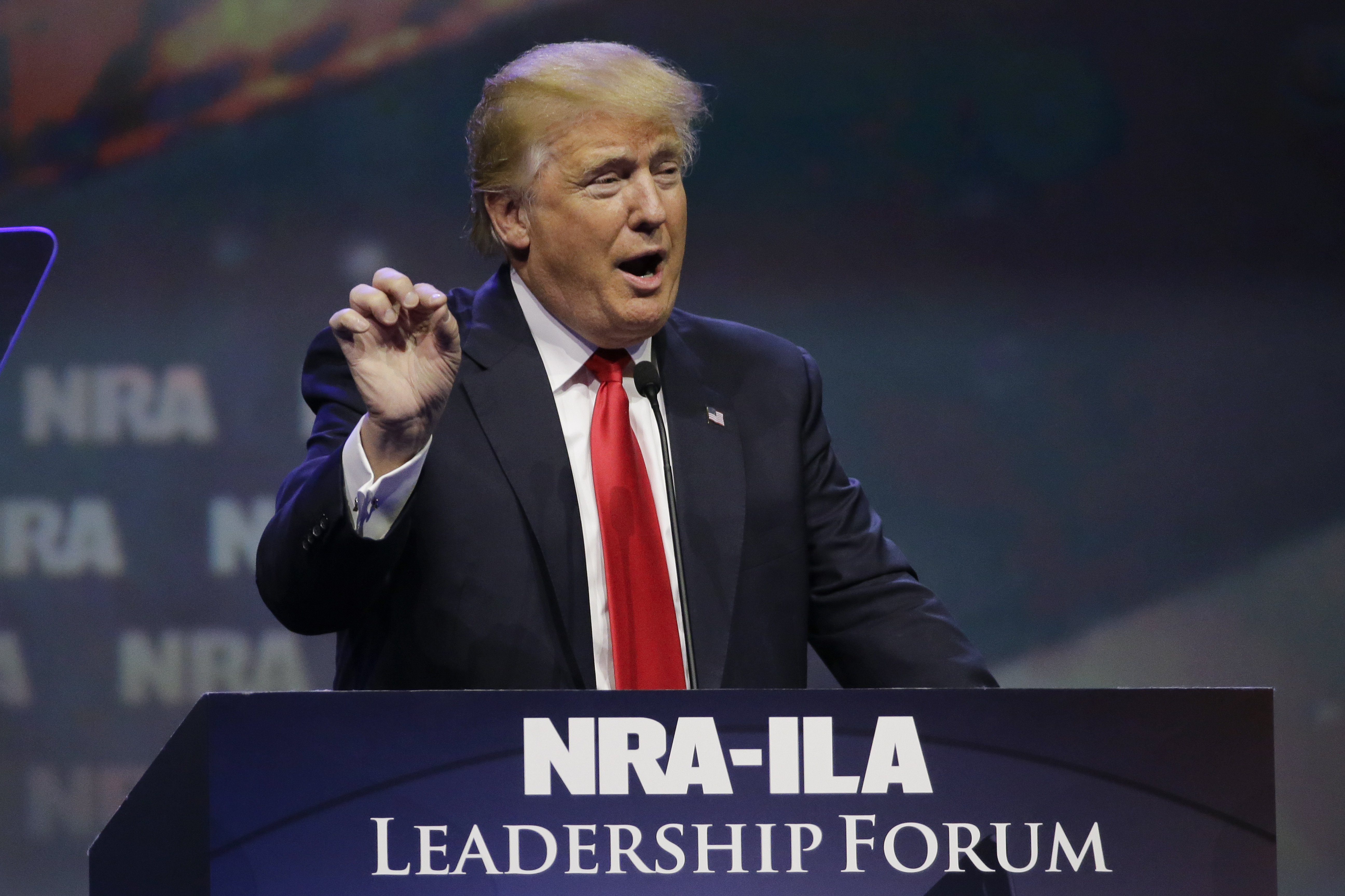 Vote   Like Your Life Depends On It     National Rifle Association     Wayne LaPierre  of the National Rifle Association  at the Conservative  Political Action Conference in