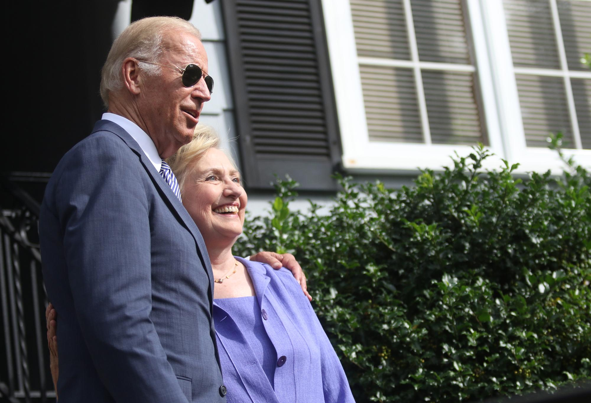 photo image Joe Biden on Hillary Clinton: 'I never thought she was a great candidate'
