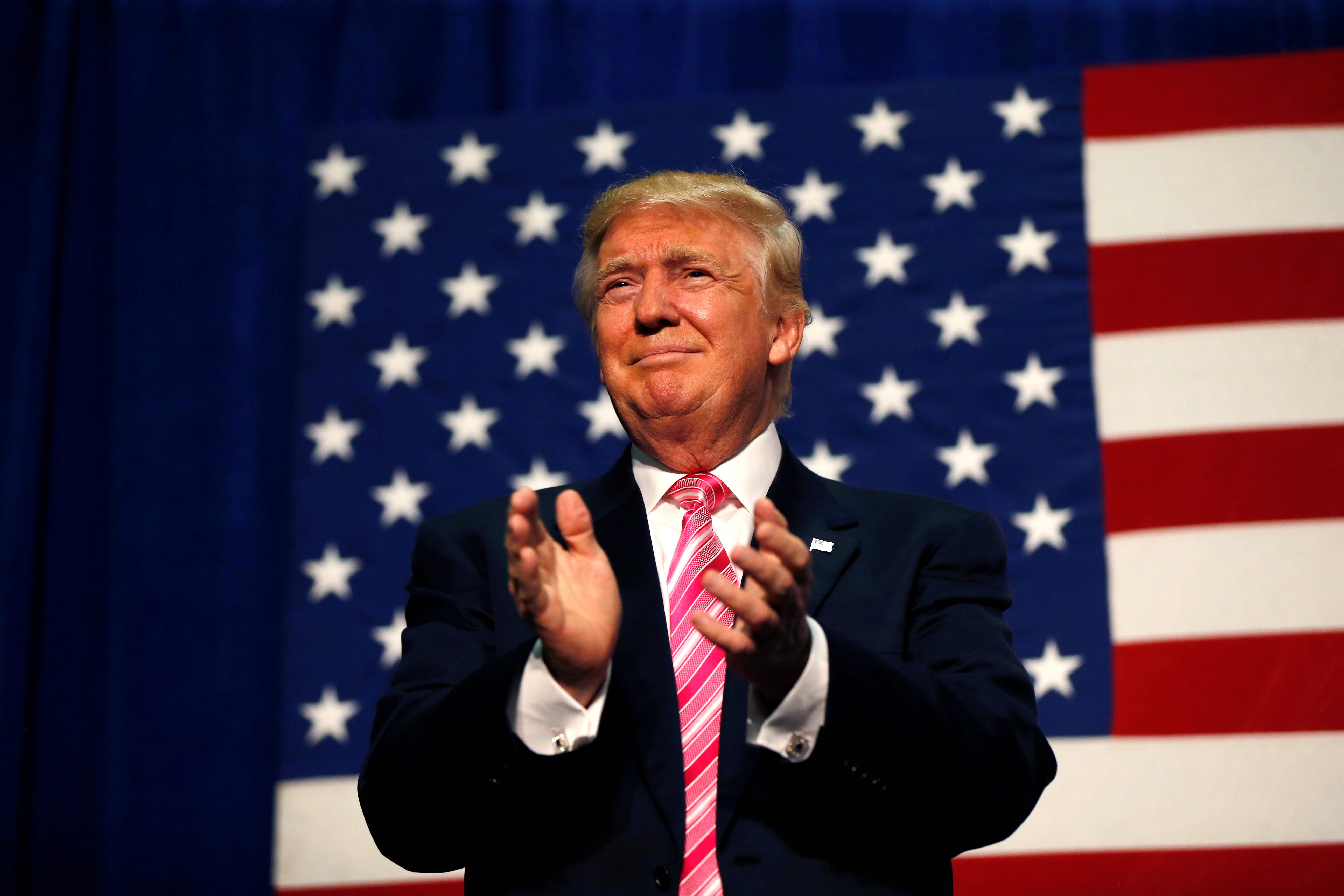 the use of ad hominem throughout the campaign of donald trump I think it's important for donald trump to express his appreciation for veterans  he added that trump's ad-hominem attacks during the campaign bothered him a.