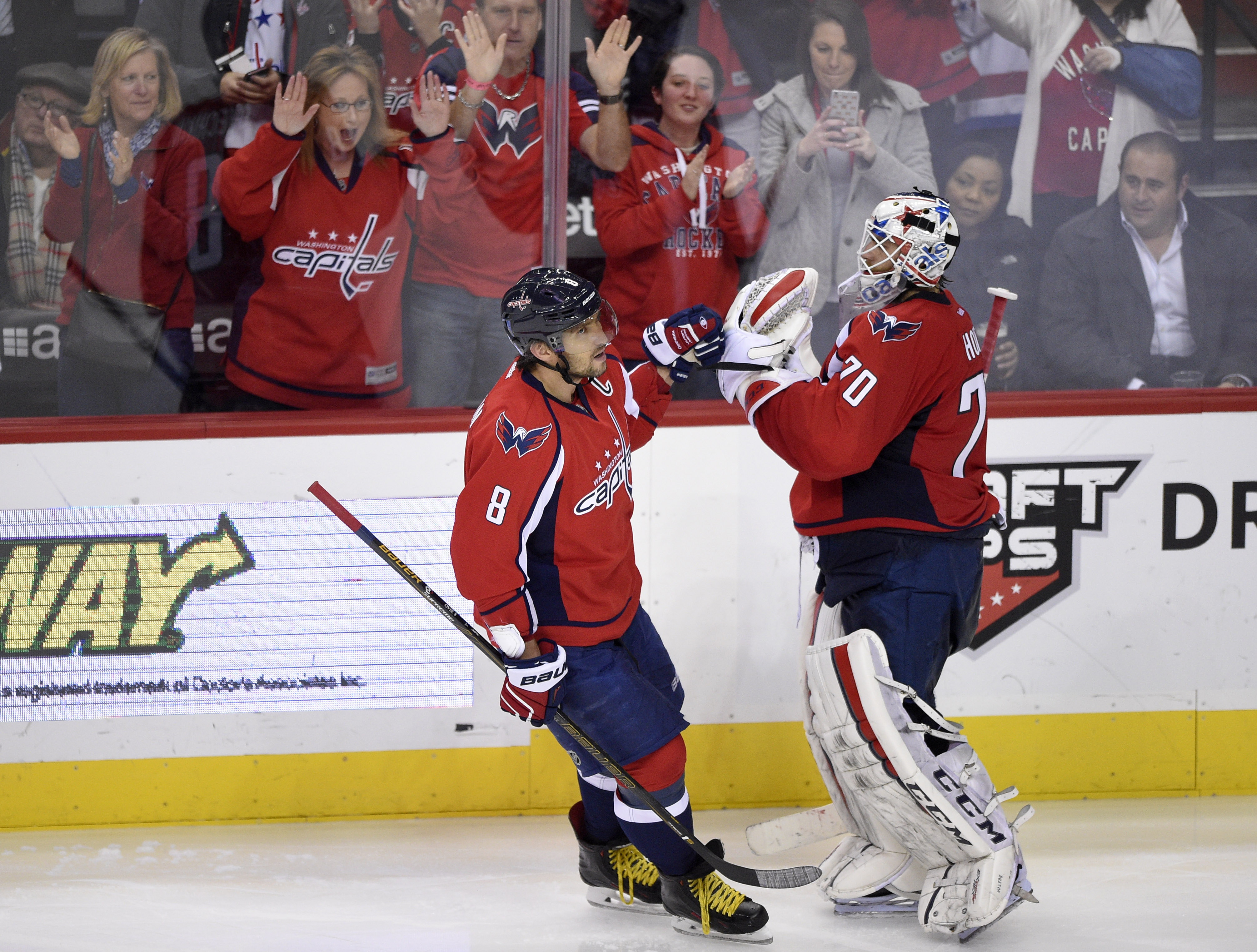 Alexander Ovechkin, Braden Holtby selected for NHL All-Star Game