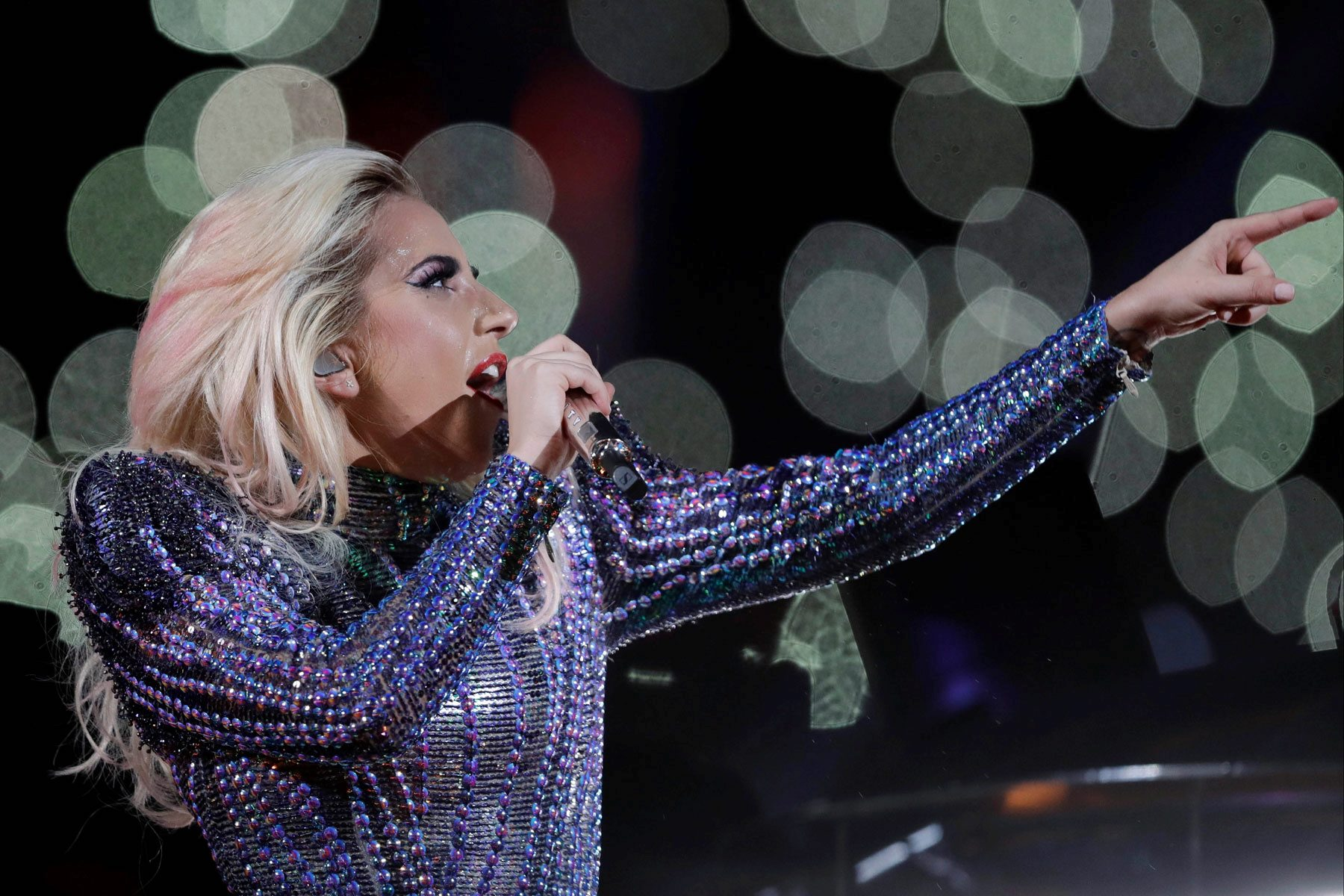 lady gaga and super bowl bear criticism washington times