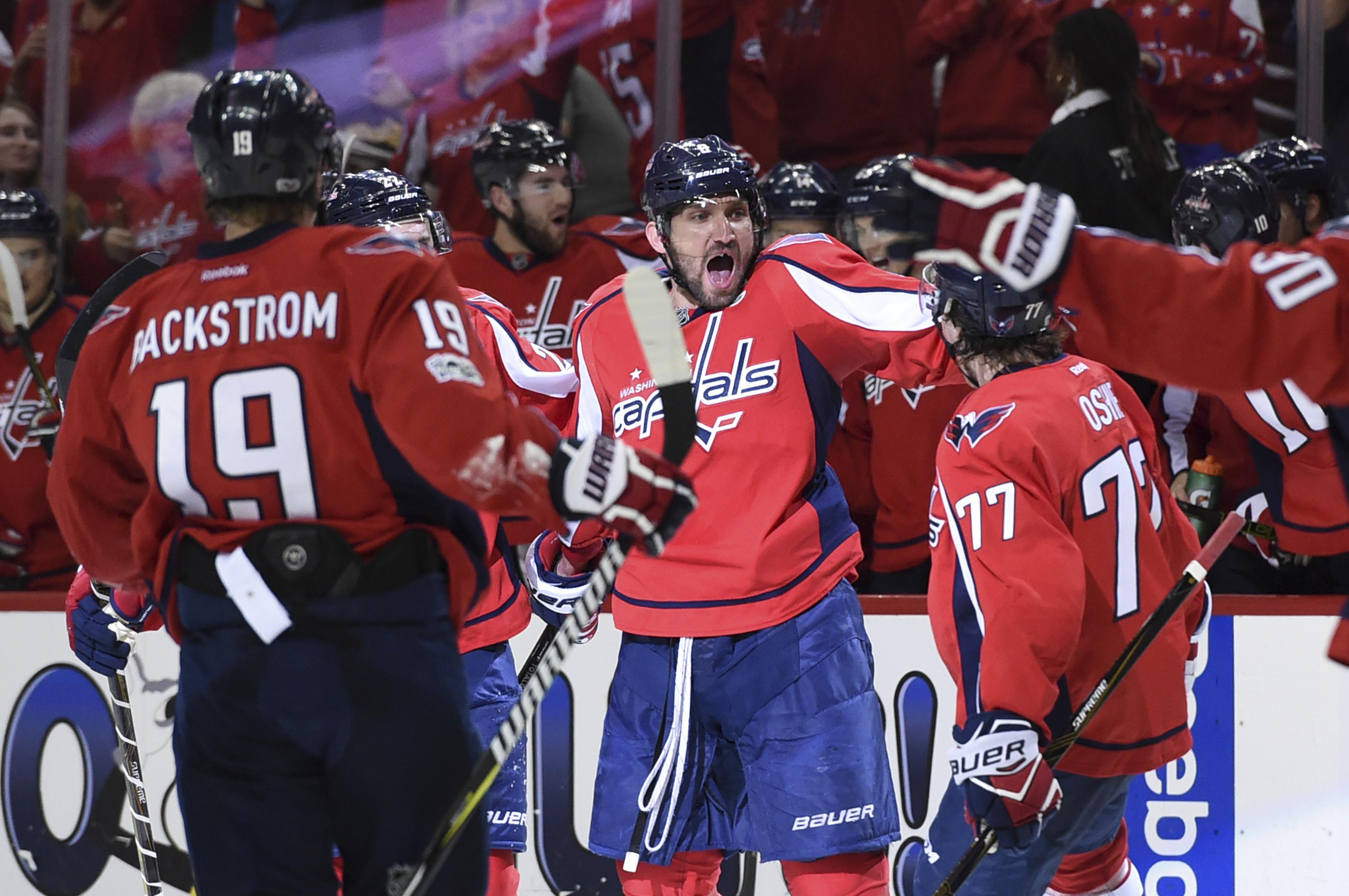 Capitals power play kept first two games tight