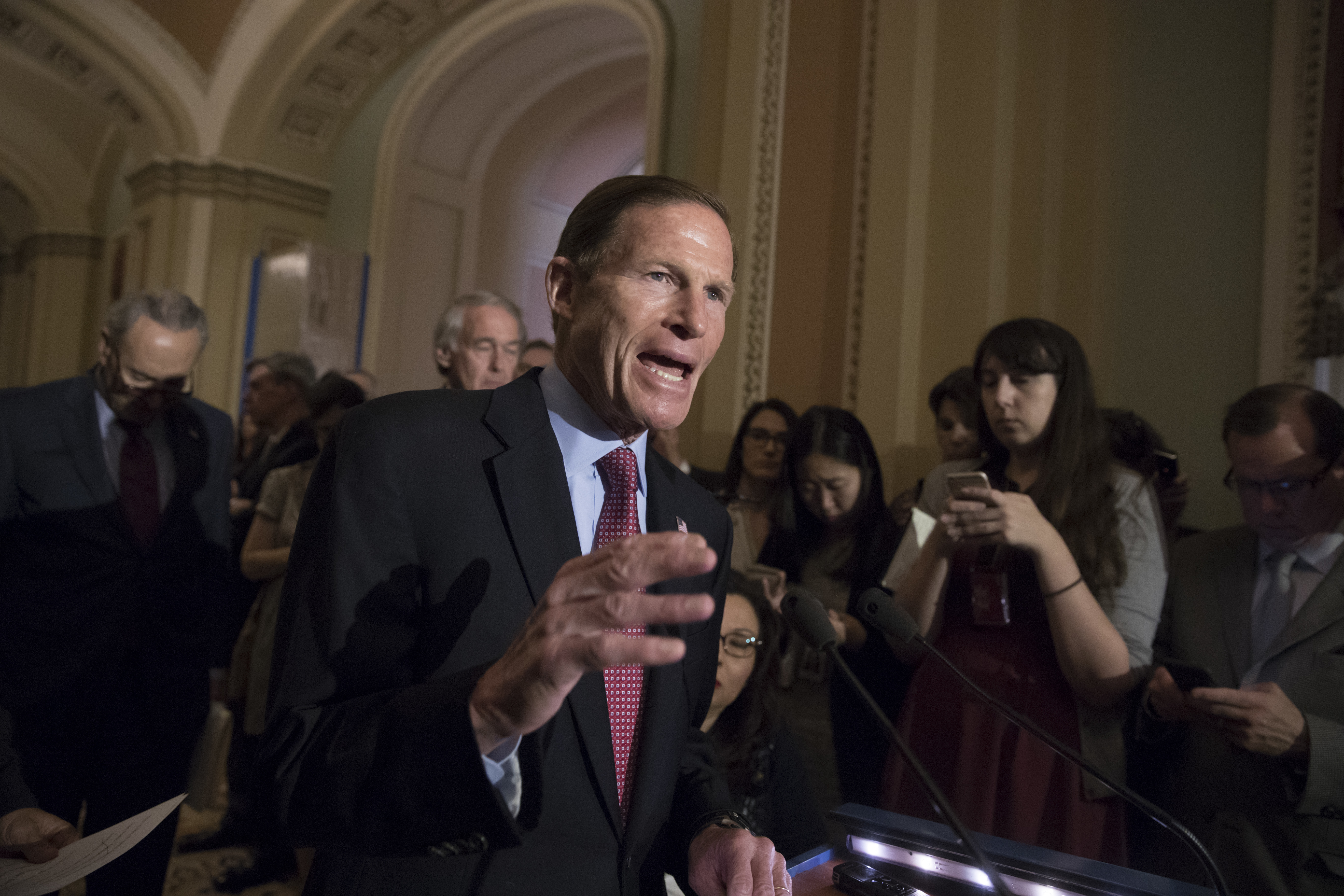 photo image Richard Blumenthal: There is 'mounting evidence' of obstruction in Trump investigation