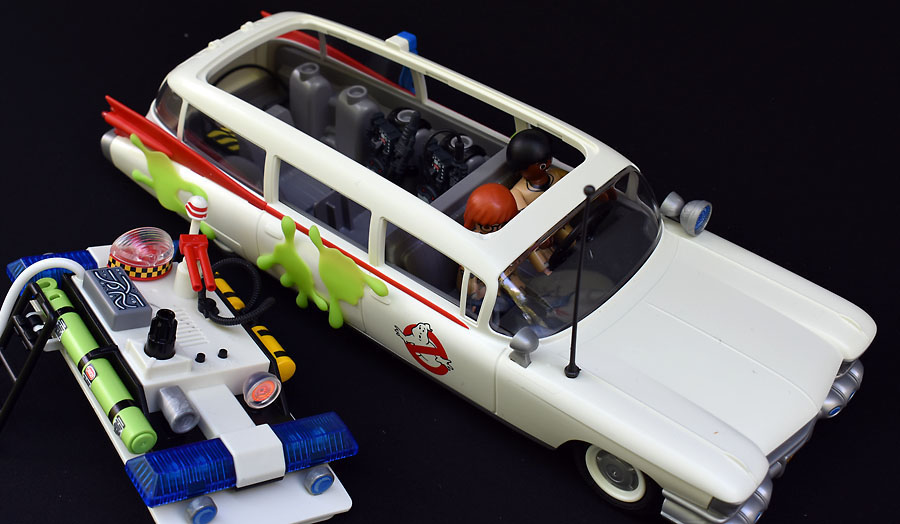 zadzooks ghostbusters ecto 1 and stay puft marshmallow man review playmobil. Black Bedroom Furniture Sets. Home Design Ideas