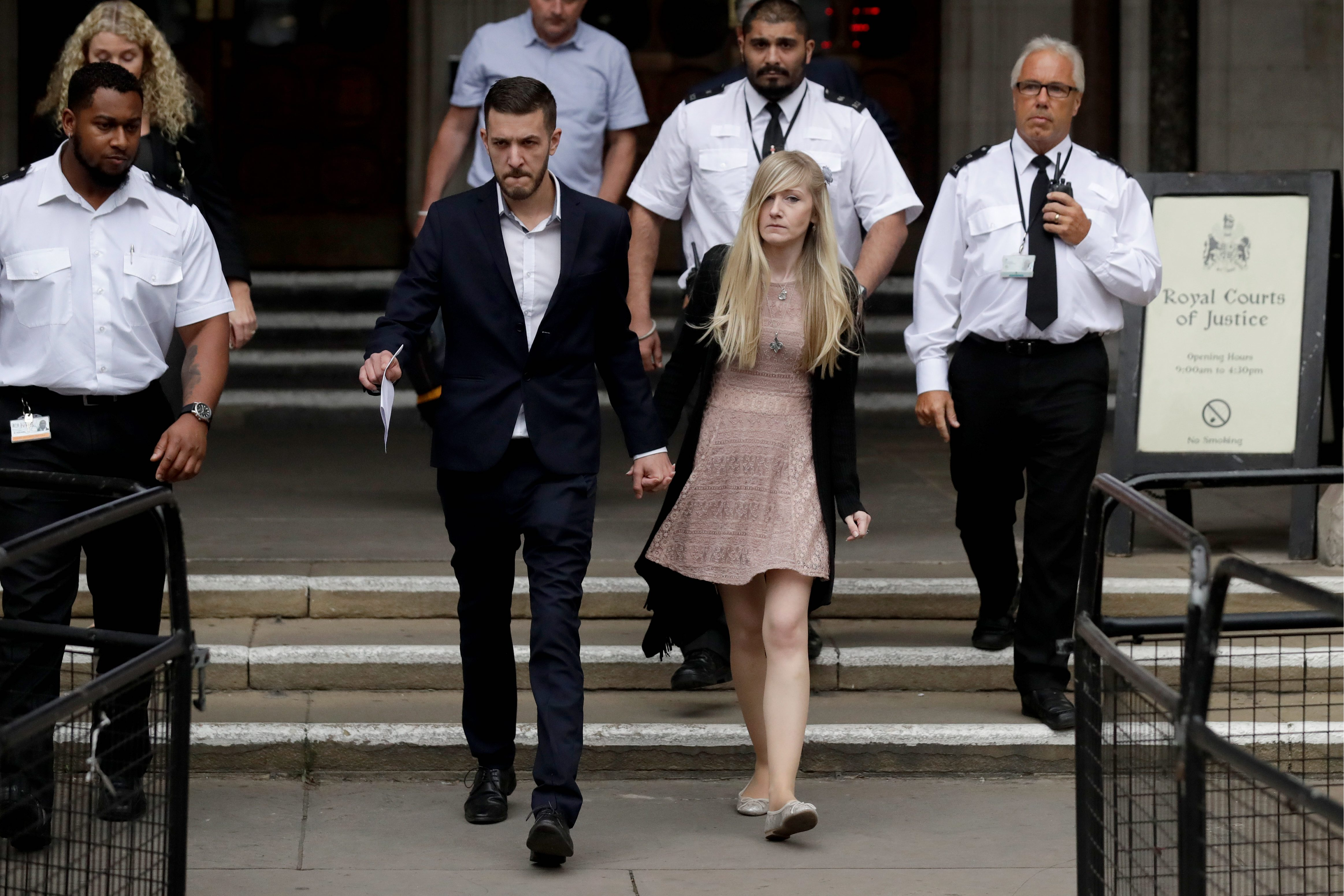 Charlie Gard at mercy of British government, not parents